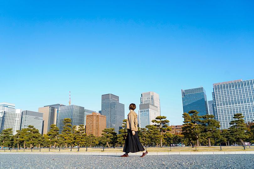 「皇居外苑・丸の内」で緑感じる街歩きのススメ Vol.1